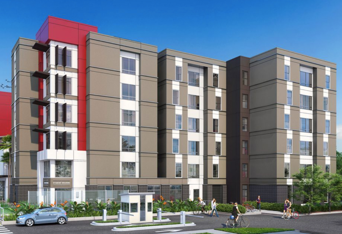 1630 San Pablo Street. Rendering by KTGY Architecture + Planning.